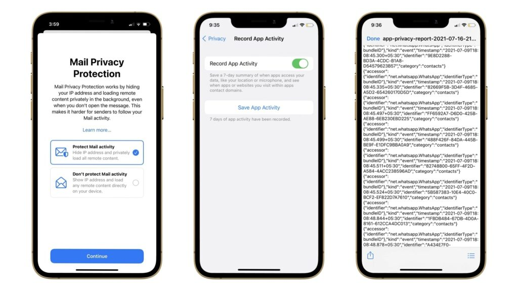 Mail Privacy and App Tracking